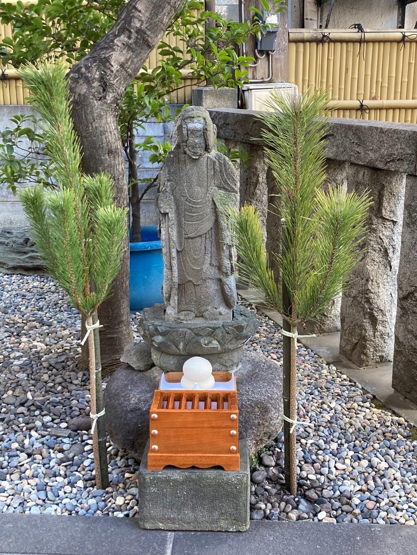 飯倉熊野神社の地蔵