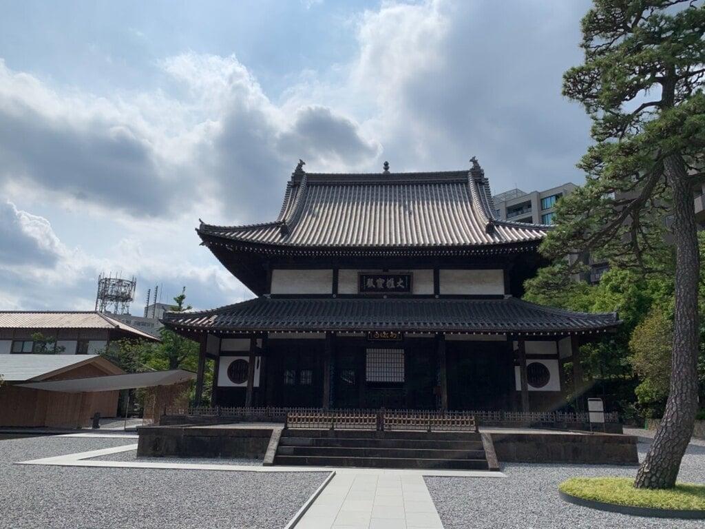 瑞聖寺の本殿