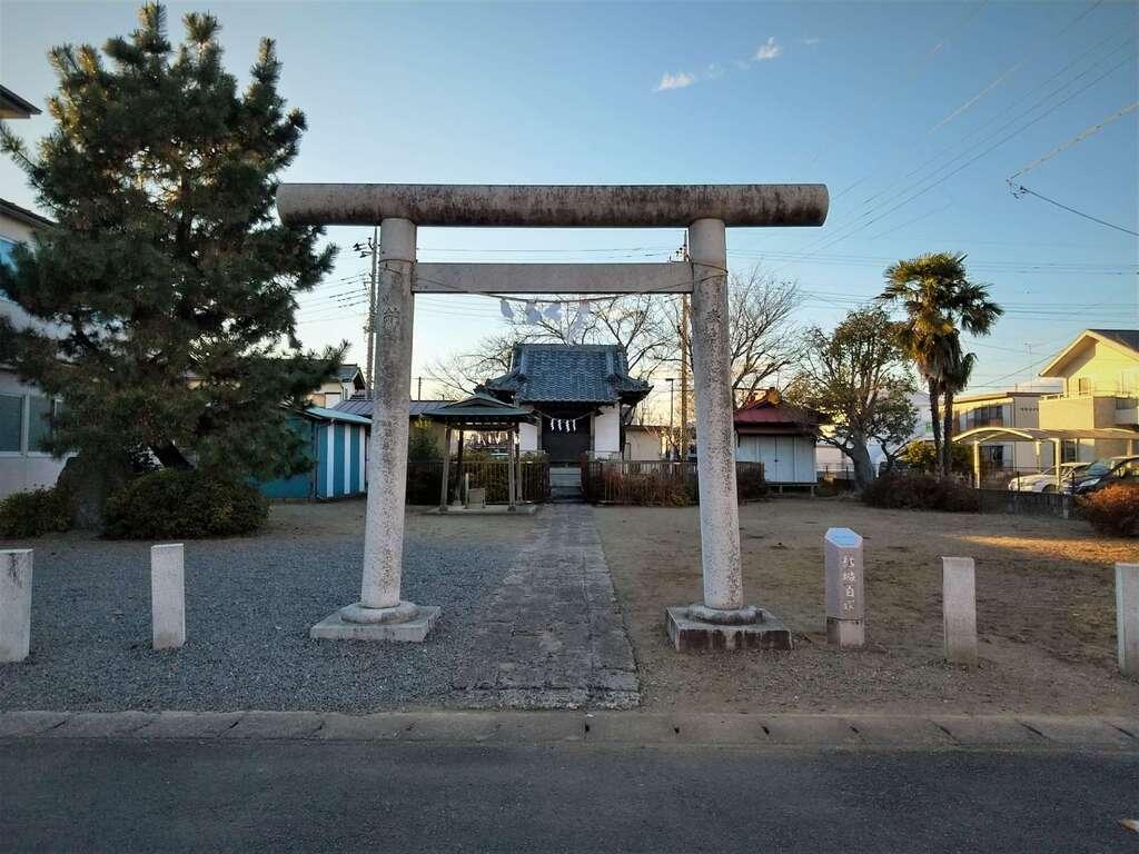 市杵島神社の鳥居