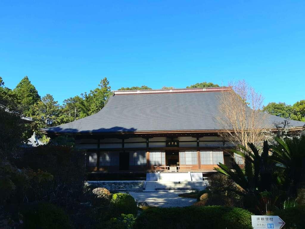龍潭寺の景色