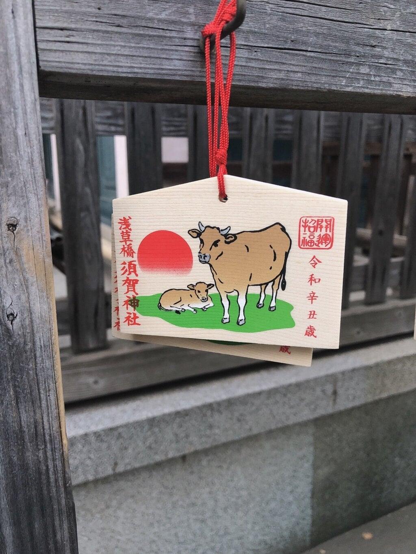 須賀神社の絵馬