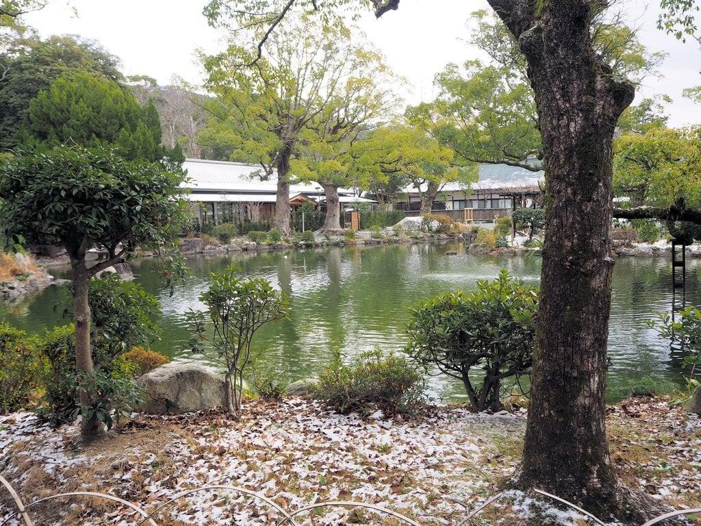 宗像大社の庭園