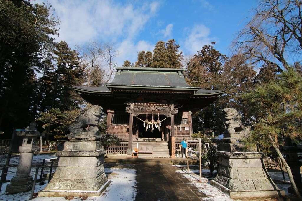 田村神社の狛犬