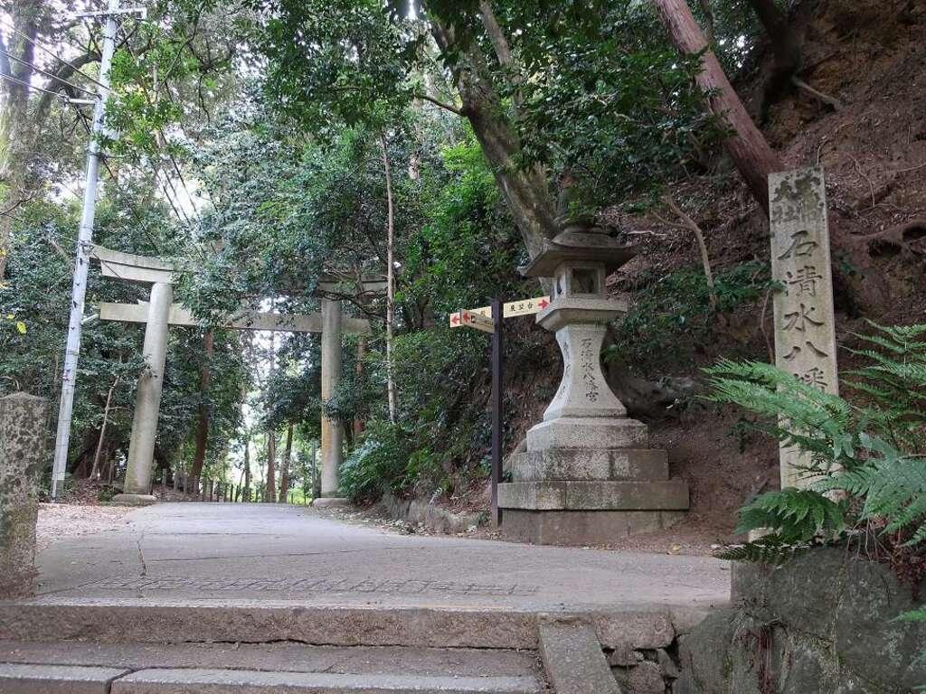 石清水八幡宮の鳥居