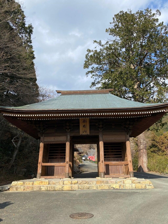 普門寺(切り絵 御朱印の寺)の山門
