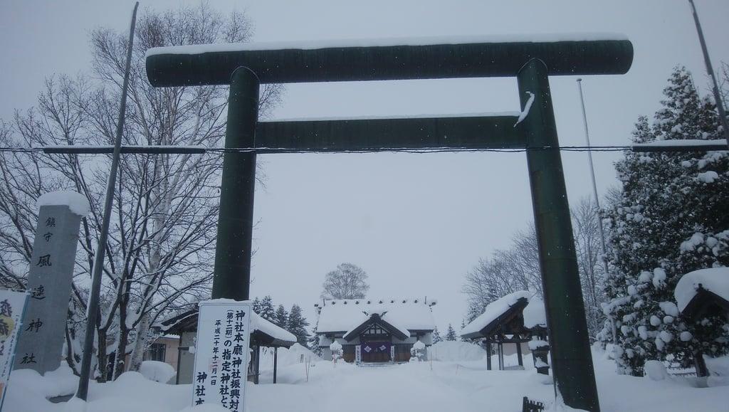 風連神社の鳥居