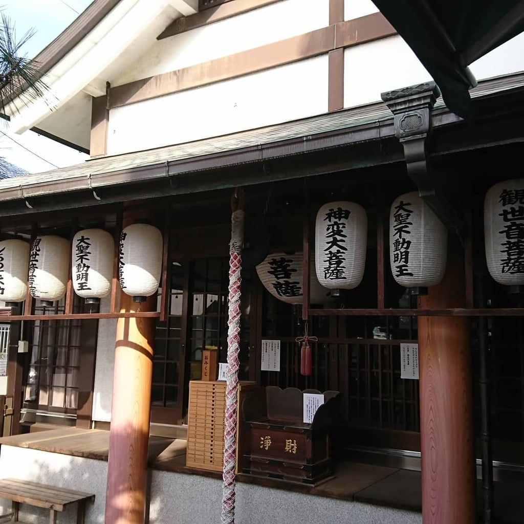 神光寺(あびこ行者堂)の本殿