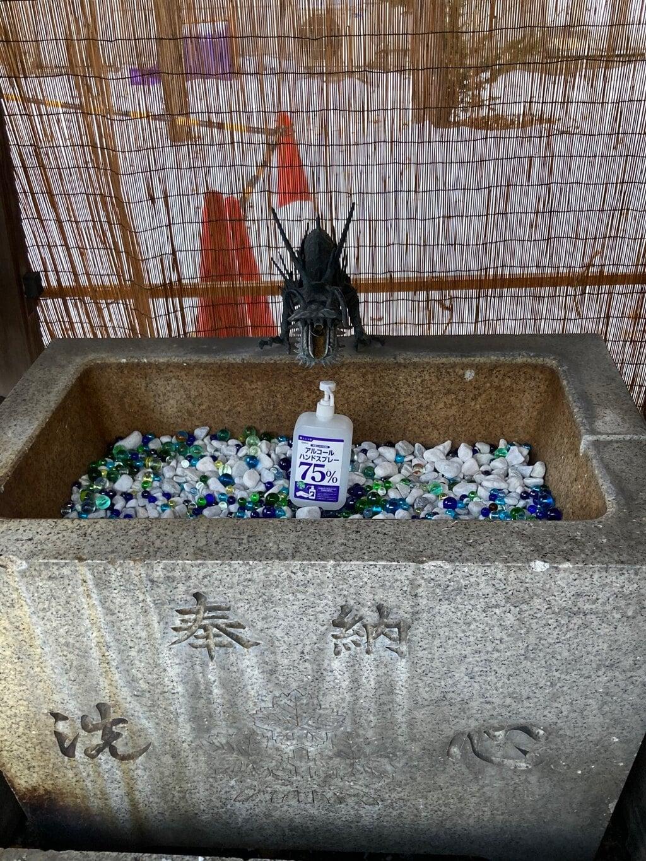 札幌諏訪神社の感染症対策