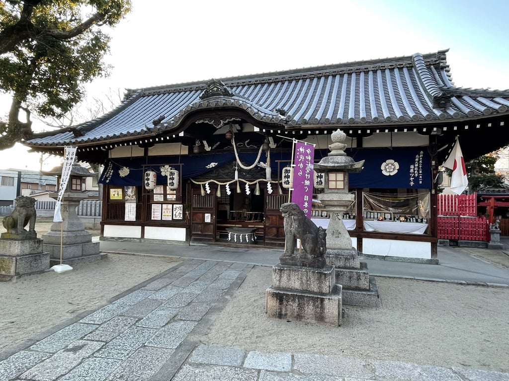 瓜破天神社の本殿