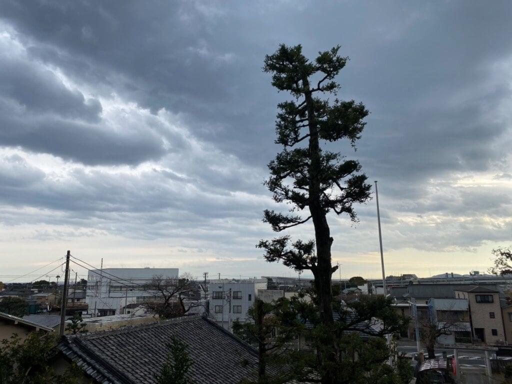 居神神社の景色