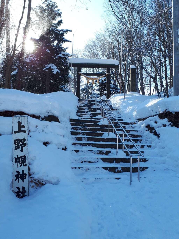 上野幌神社の鳥居