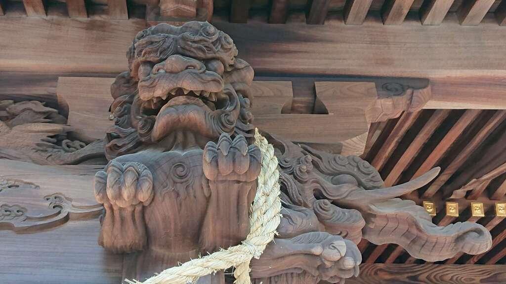 玉敷神社の芸術