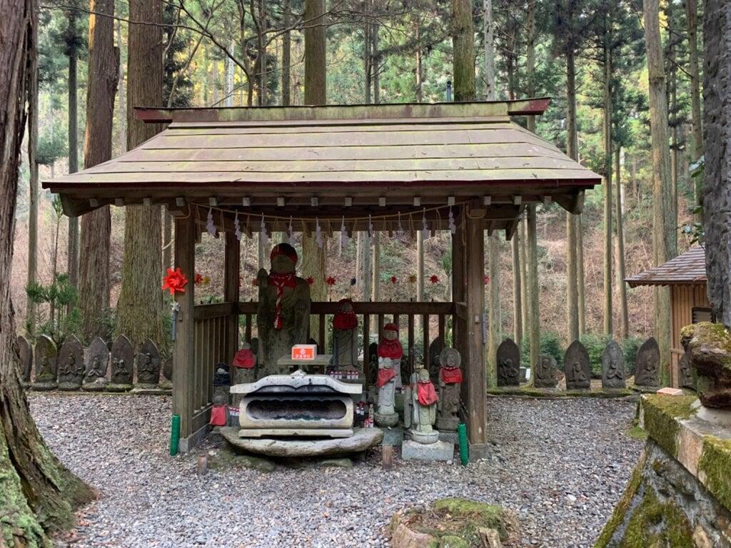 御岩神社の地蔵