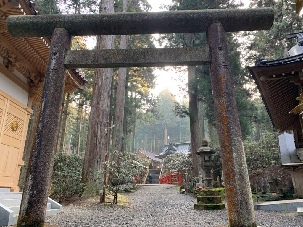 御岩神社の鳥居