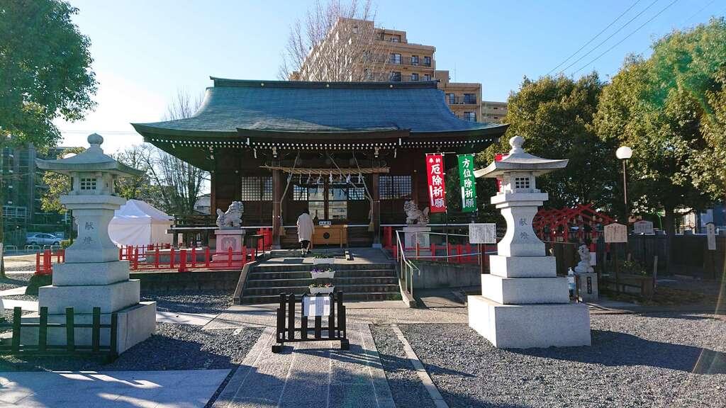 朝日氷川神社の本殿