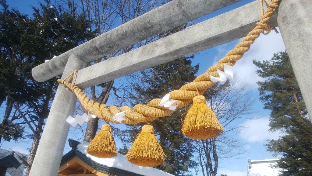 帯広三吉神社の鳥居