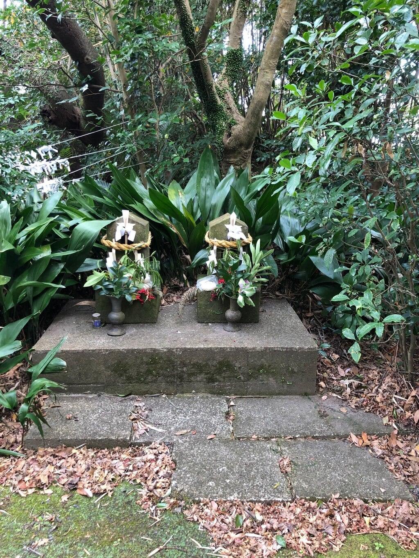 烏帽子嶽神社の地蔵