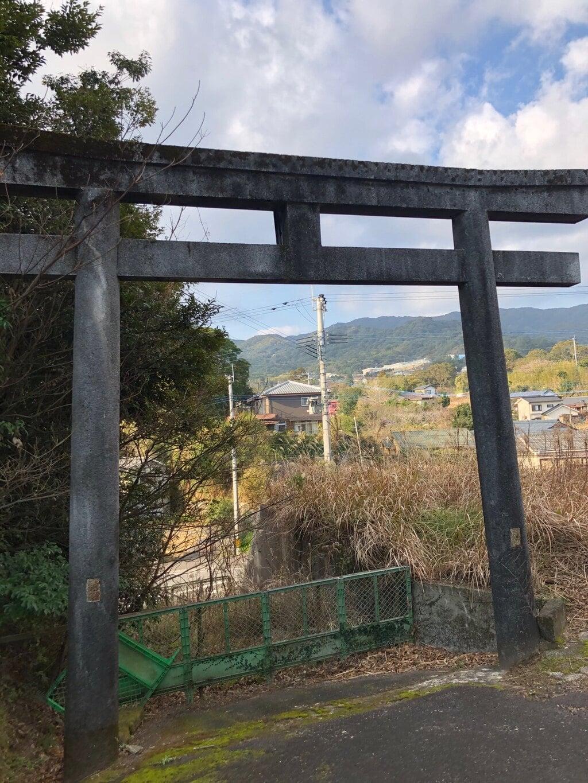 烏帽子嶽神社の鳥居