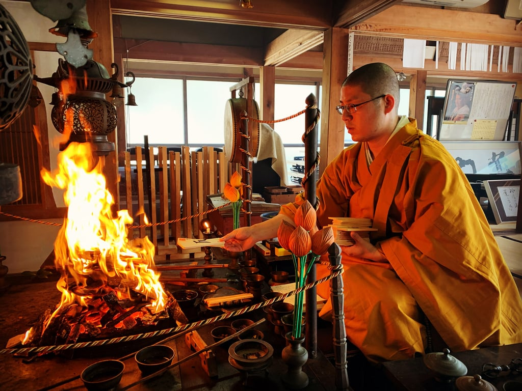 普門寺(切り絵 御朱印の寺)のお祭り