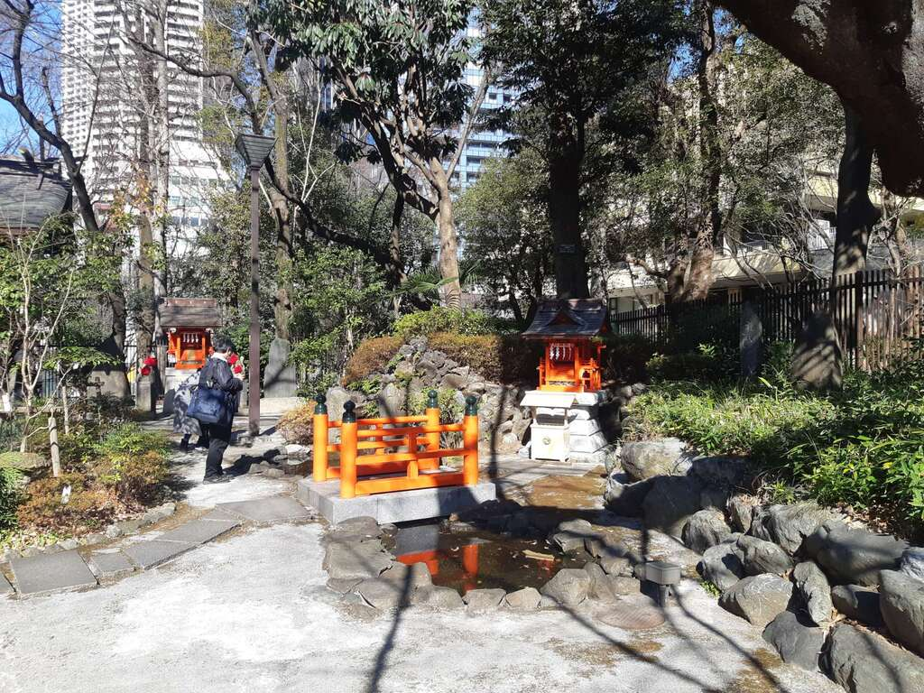 熊野神社の庭園