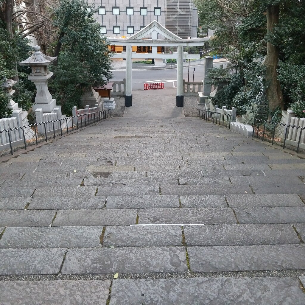 日枝神社の景色
