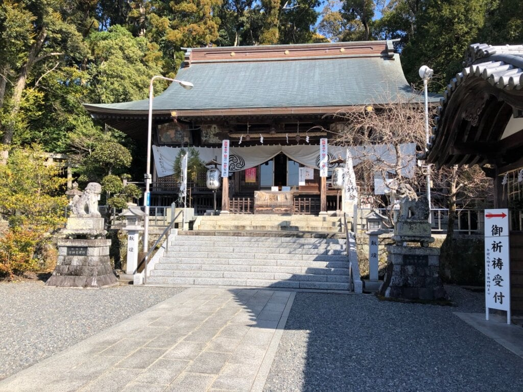 飽波神社の本殿