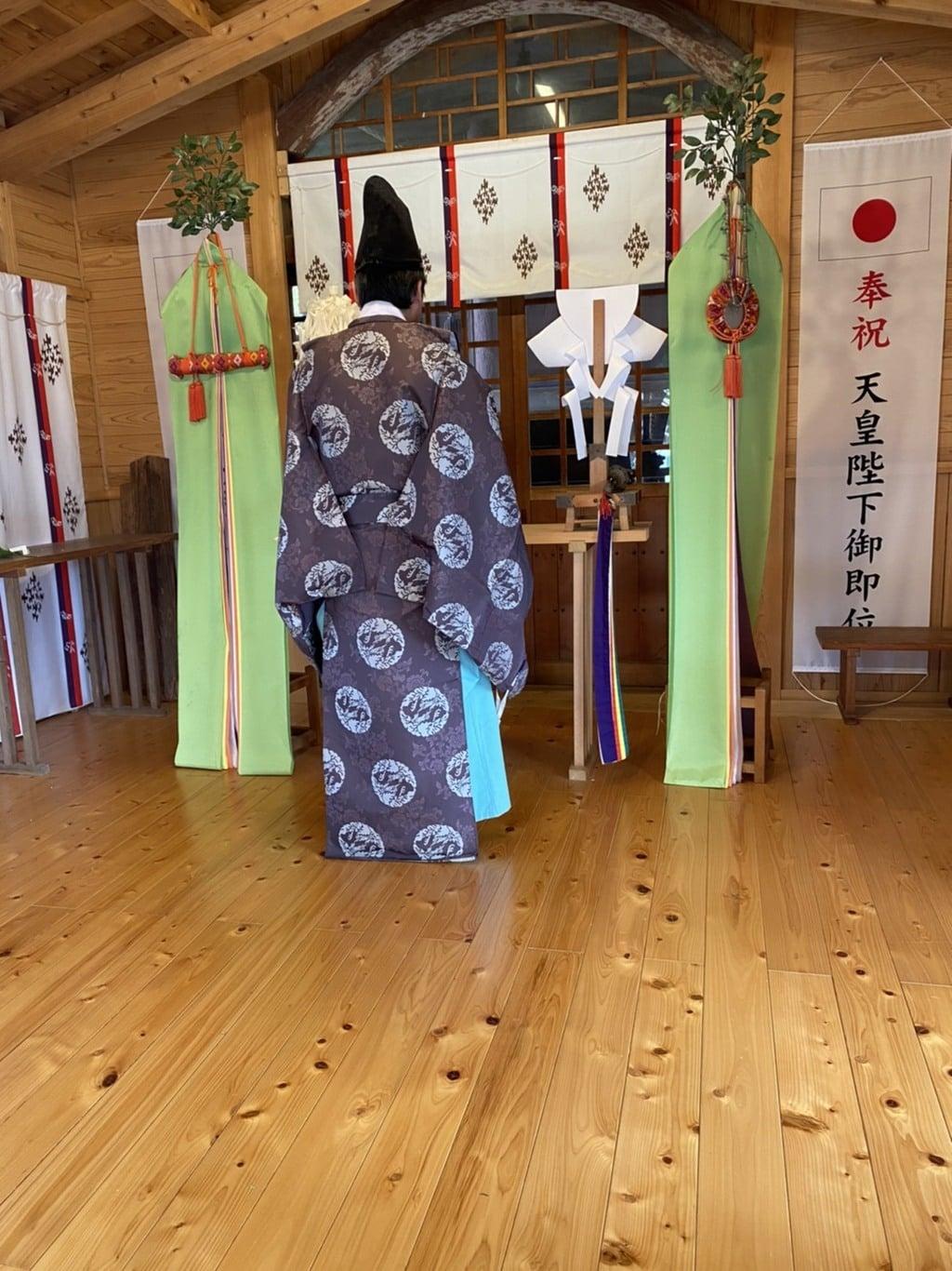 河内阿蘇神社のお祭り