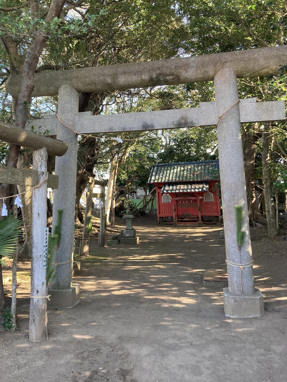 塙神社の鳥居