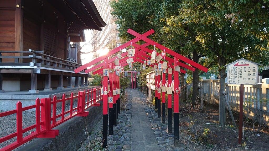 朝日氷川神社の末社