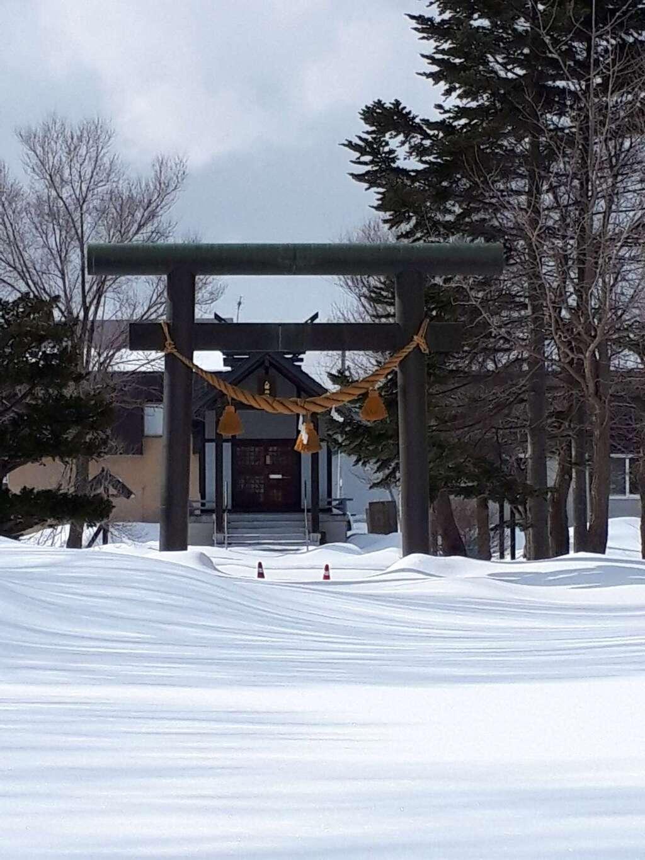 東米里八幡神社の鳥居