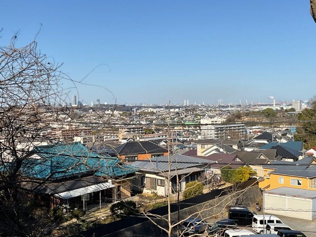 峰白山神社の景色
