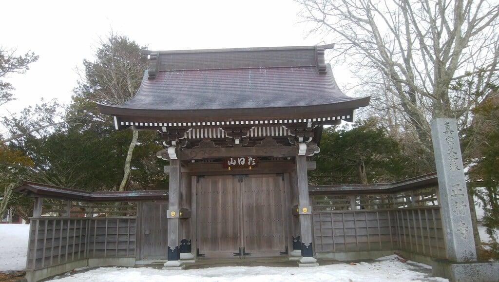 正行寺の山門