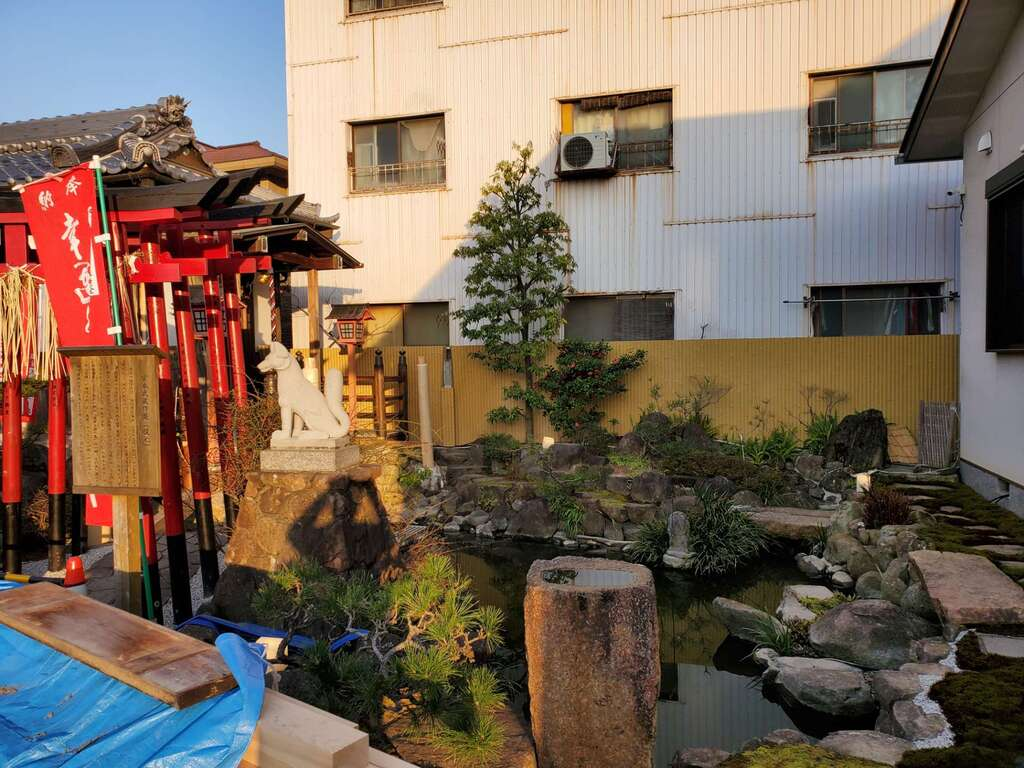 雲晴寺の庭園