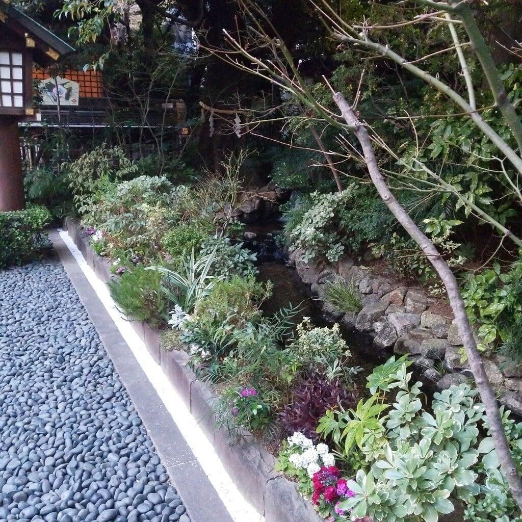 東京大神宮の庭園