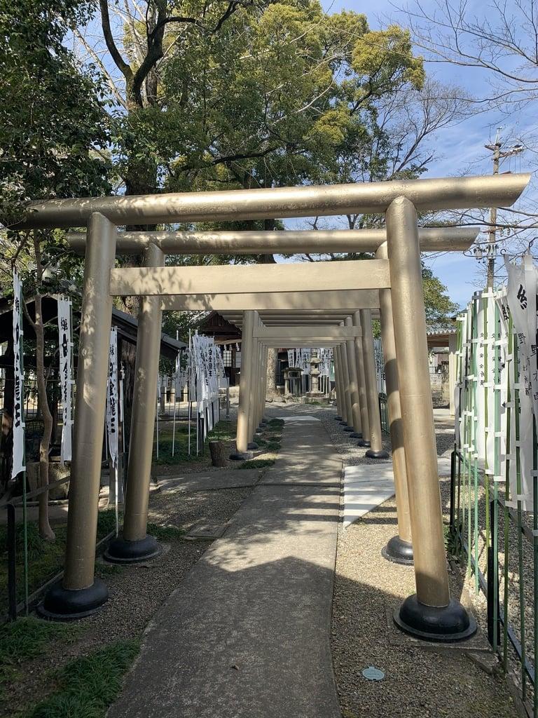 若宮神明社の鳥居