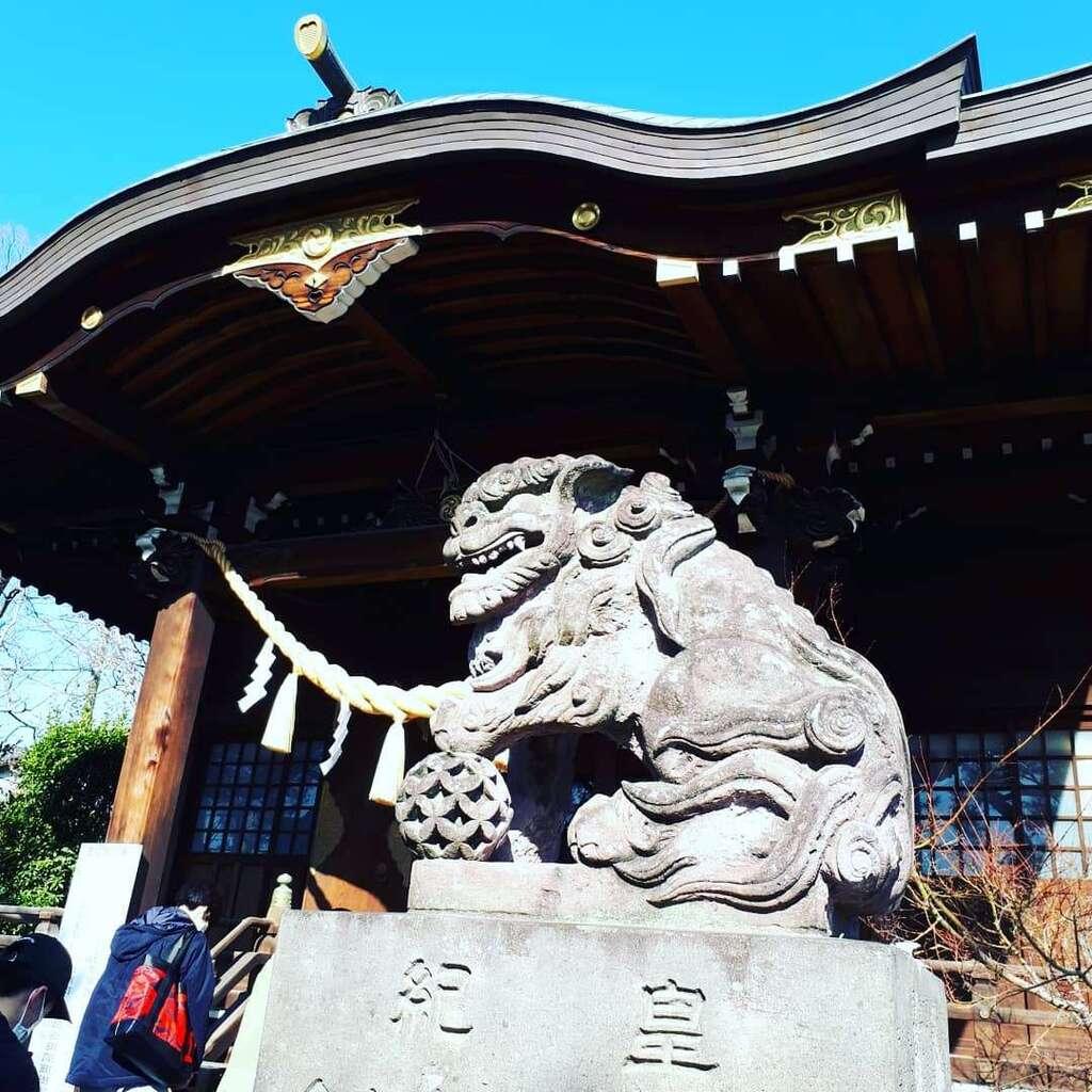 行田八幡神社の狛犬