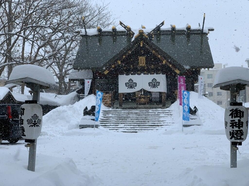 札幌諏訪神社の本殿