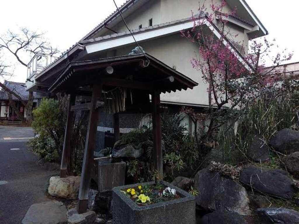 観明寺の手水