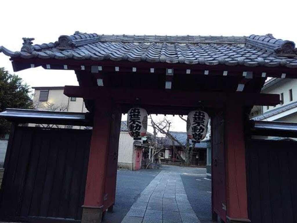 観明寺の山門
