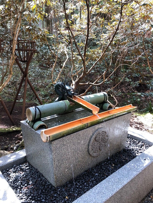 御岩神社の手水