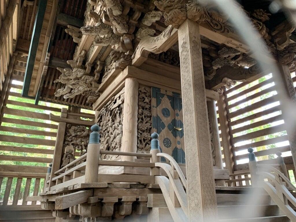 八雲神社の本殿