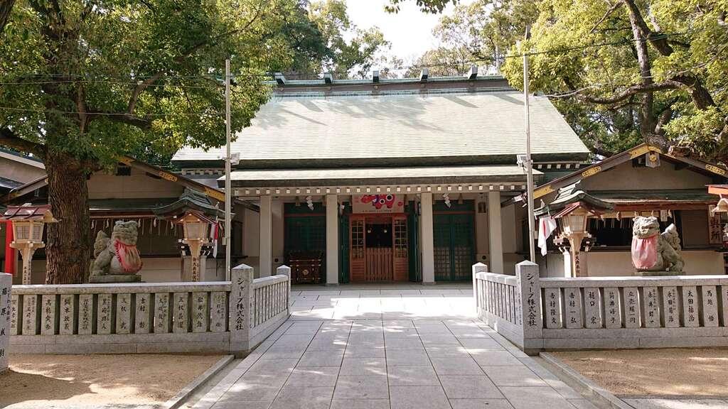 山阪神社の本殿