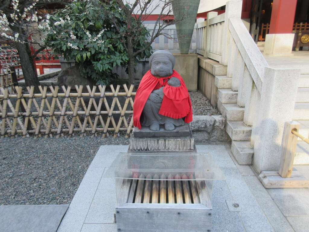 日枝神社の狛犬