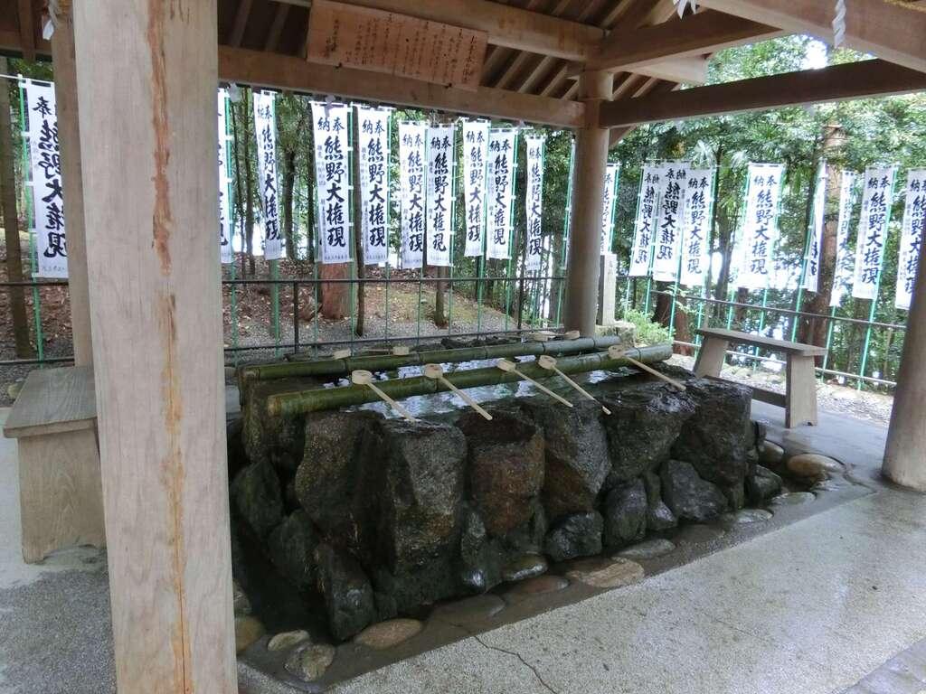 熊野本宮大社の手水