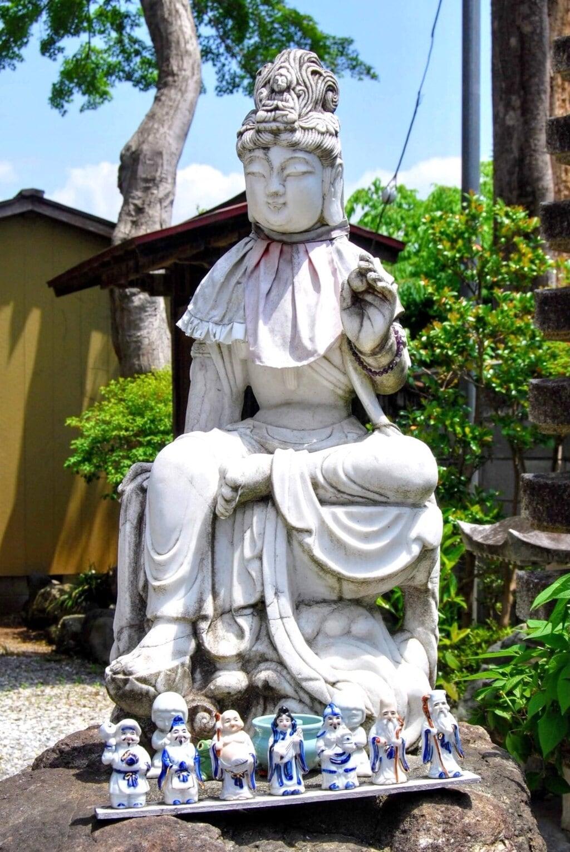 白道山神門寺の仏像