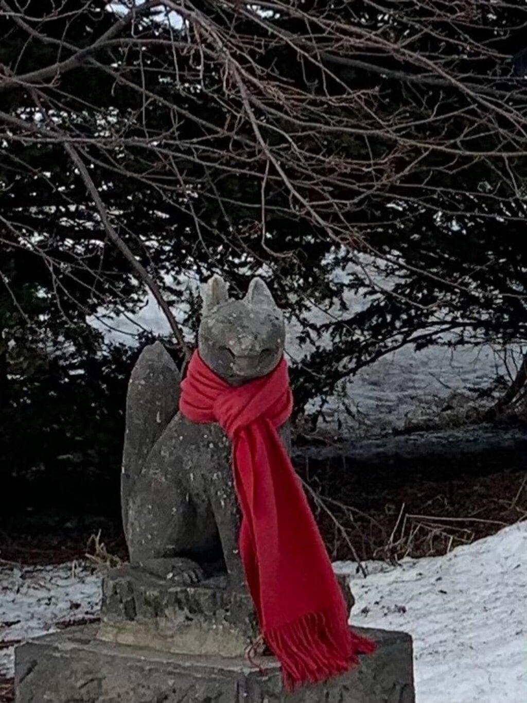 豊畑神社の狛犬