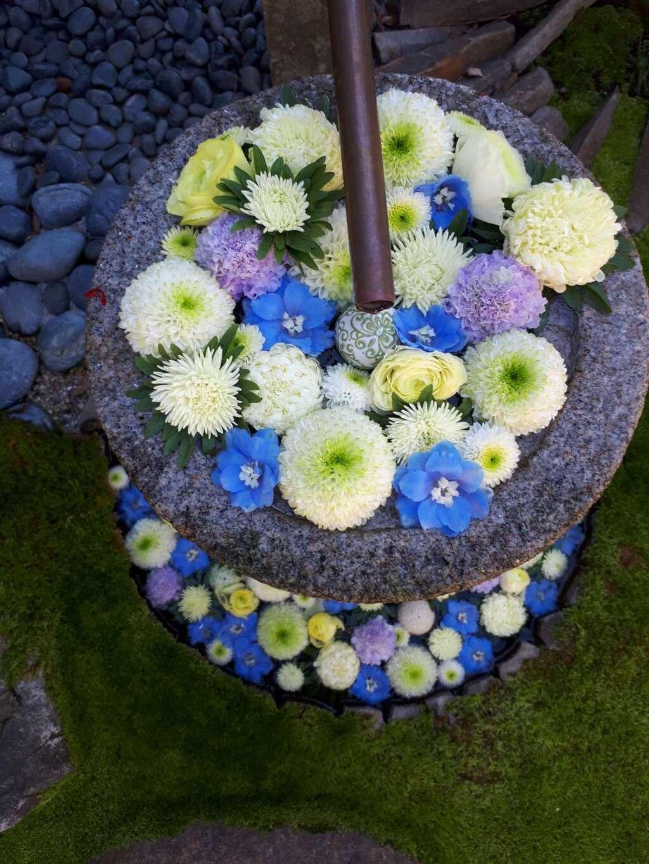 行田八幡神社の庭園