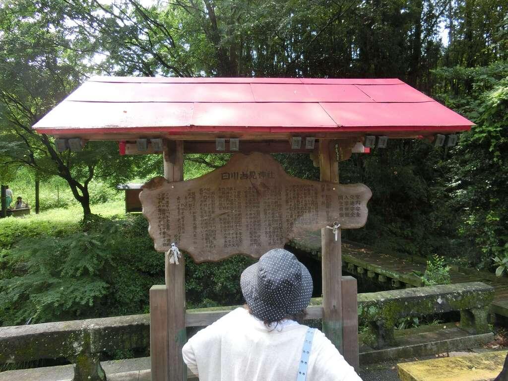 白川吉見神社の建物その他