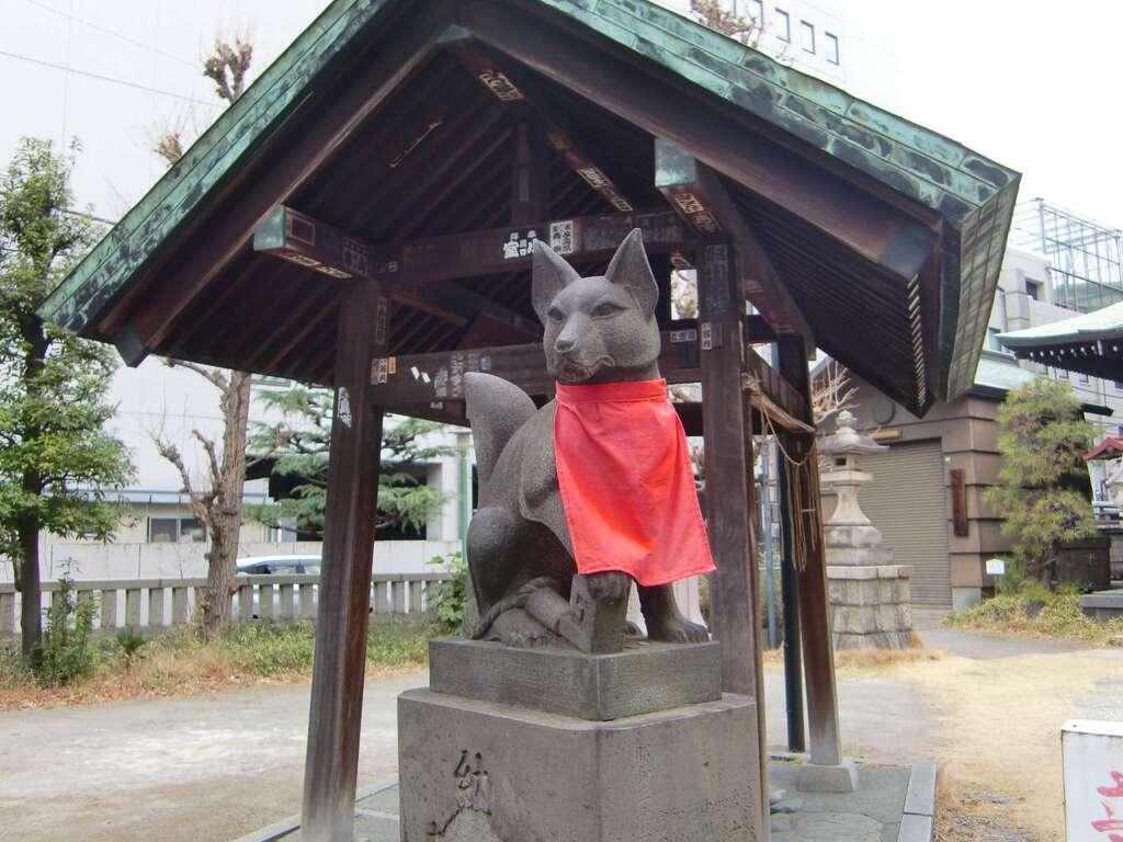 千束稲荷神社の狛犬