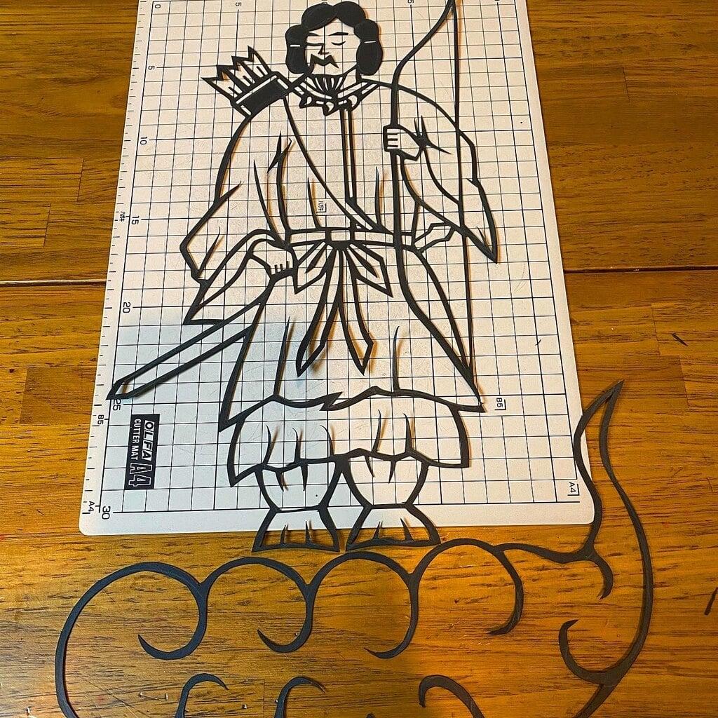 滑川神社 - 仕事と子どもの守り神の芸術